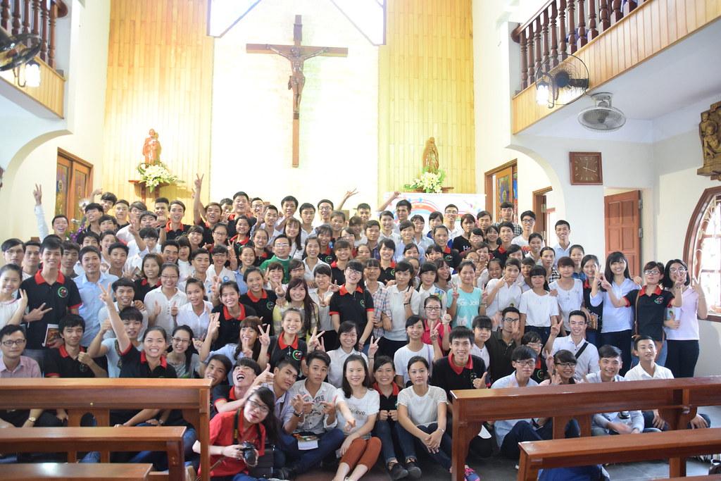 Chương trình đón tân sinh viên nhóm SVCG Phát Diệm tại Hà Nội năm 2015