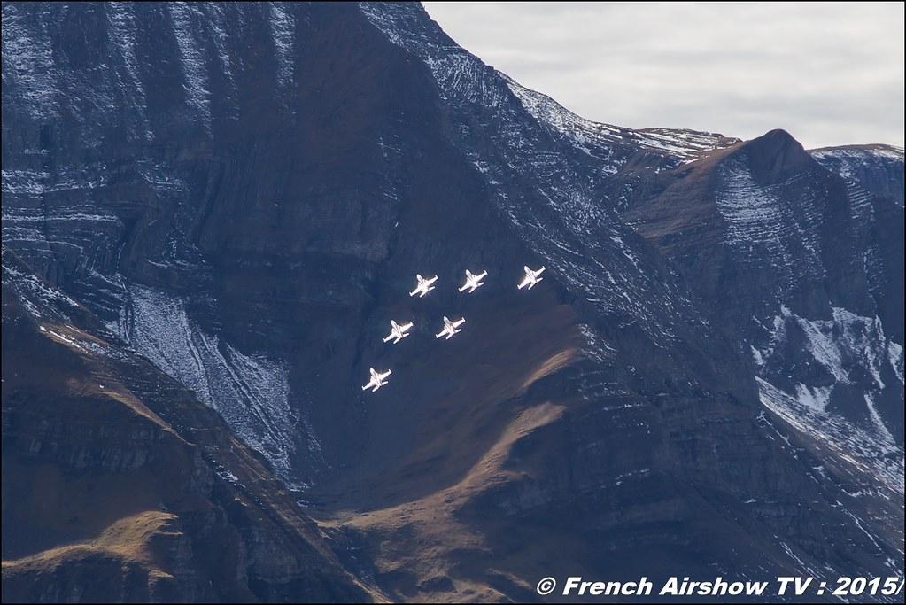 Patrouille Suisse , F-5 tiger II ,patrouille-suisse ,CH, Axalp 2015 ,Exercices de tir d'aviation Axalp , fliegerschiessen axalp 2015, Meeting Aerien 2015