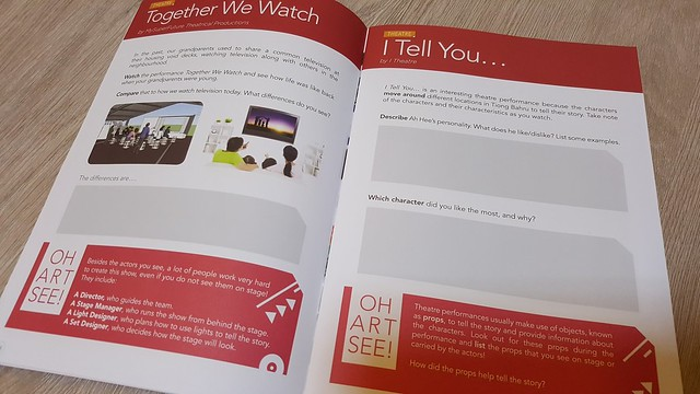 Together We Watch Activities page in the AYN 2015 Activity Booklet.