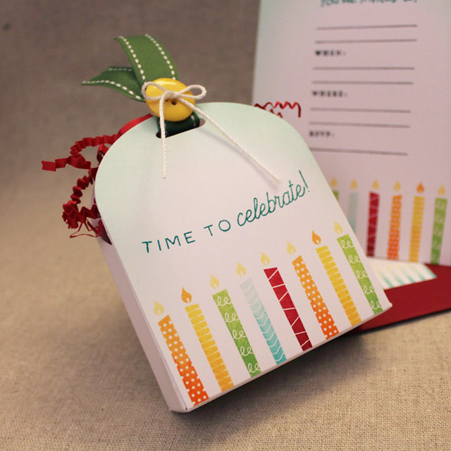 Birthday Candle Party Favor
