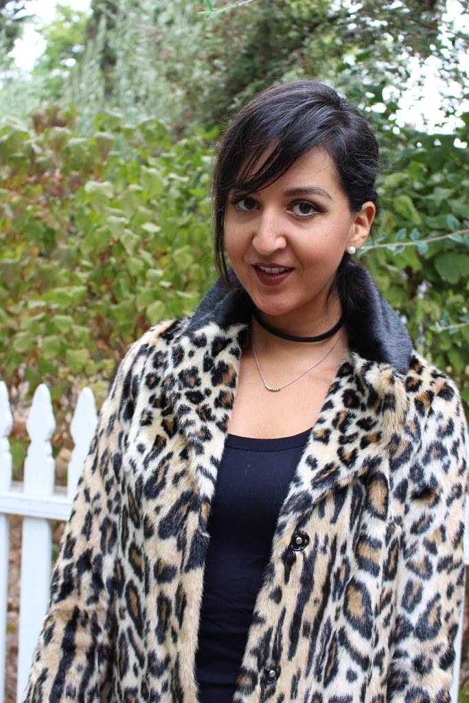 Leopard Print coat 2