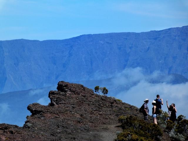 Foto de la zona volcánica del Piton de la Fournaise (Isla Reunión)