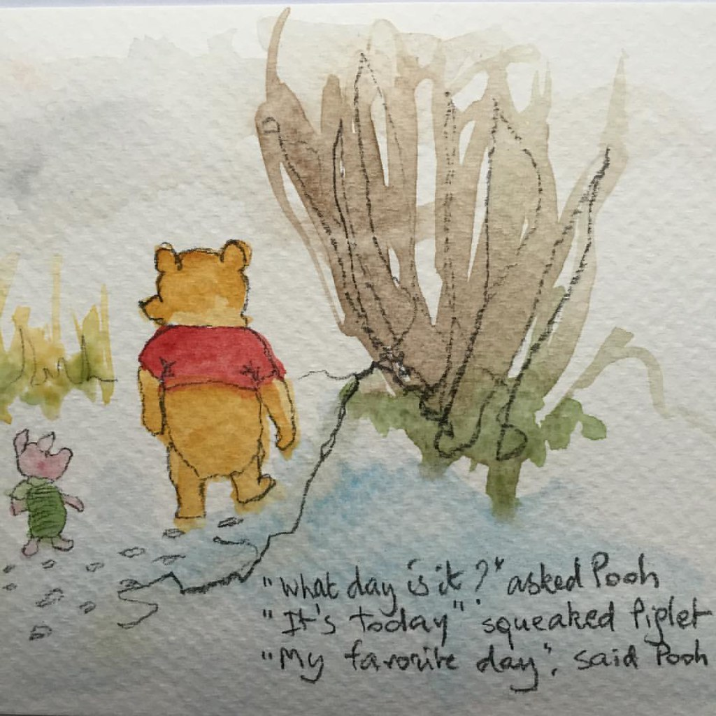 winniethepooh quot what day is it quot asked pooh quot it s today