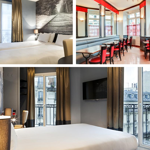 Hotel Appia La Fayete de París, de lo mejor en calidad-precio para dormir en París