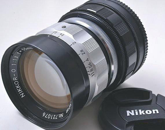二手鏡頭 香港 . . . Nikon Nikkor O 55mm F/1.2 CRT (L39 改A7) 結實、銳利 ,散景漂亮獨特   足以秒殺電影鏡