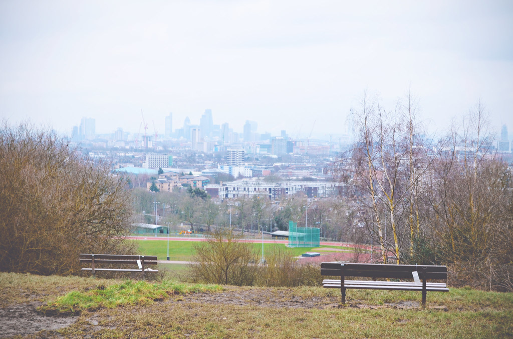 Hampstead Heath views over London | via It's Travel O'Clock