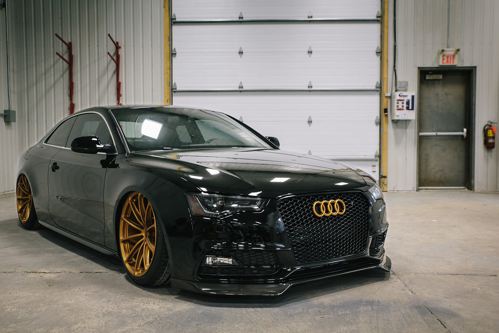 Prostate Cancer Canada S Bagged Audi S5 Coupe On Forgeline