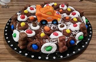 moelleux au chocolat anniversaire