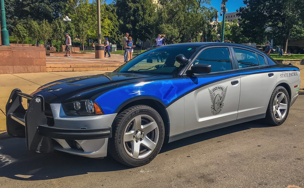 Colorado State Patrol Thin Blue Line Cruiser This