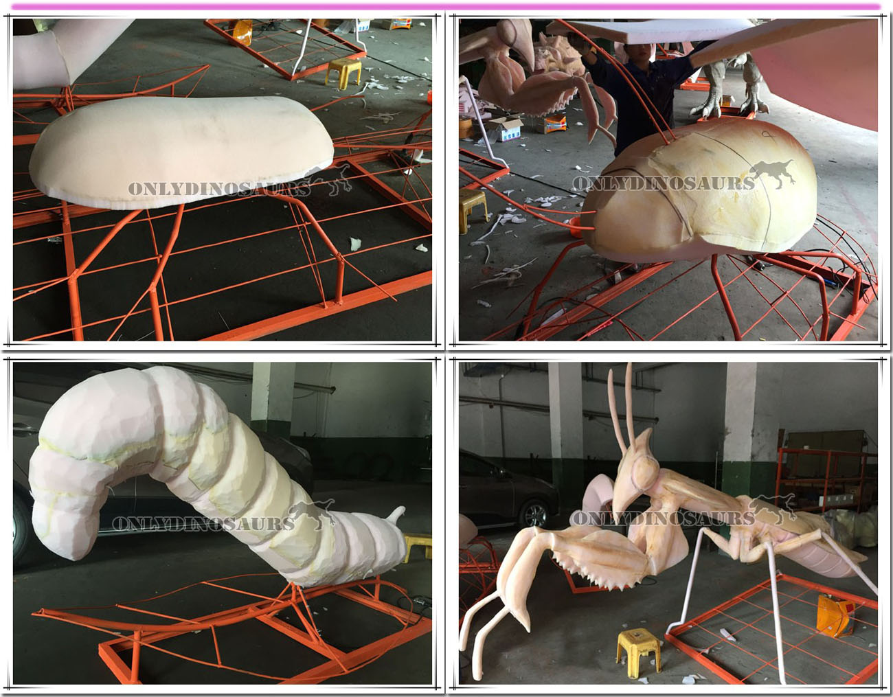 Animatronic Insect Sculpture Work