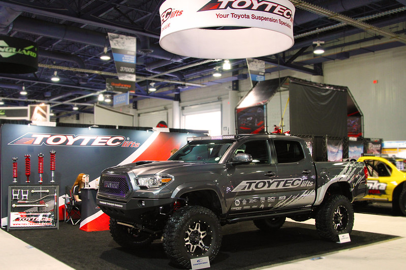 2016 Tacoma from Toytec Lifts - SEMA 2016
