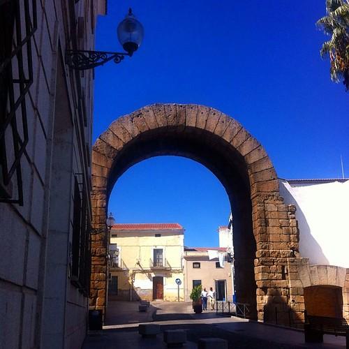 Arco de Trajano i #Mérida #Extremadura #España #Spain #Spania #ArildHelgeland...