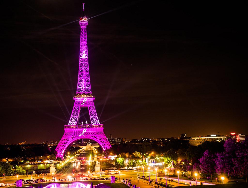 Eiffel Tour Map