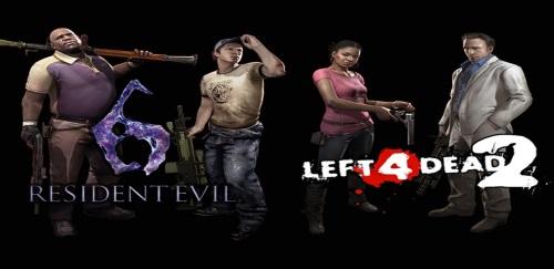 Resident Evil 6 x Left 4 Dead 2 home