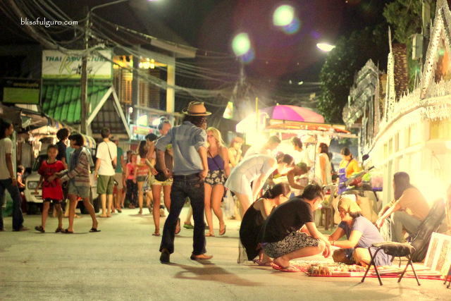 Pai Walking Street Thailand