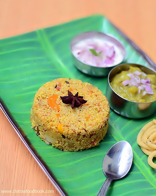 Little millet biryani