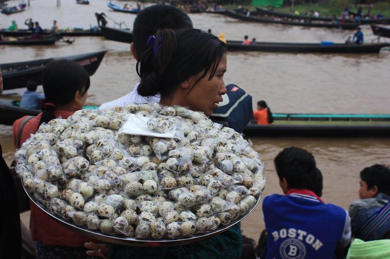 Уличная еде Инле Мьянма
