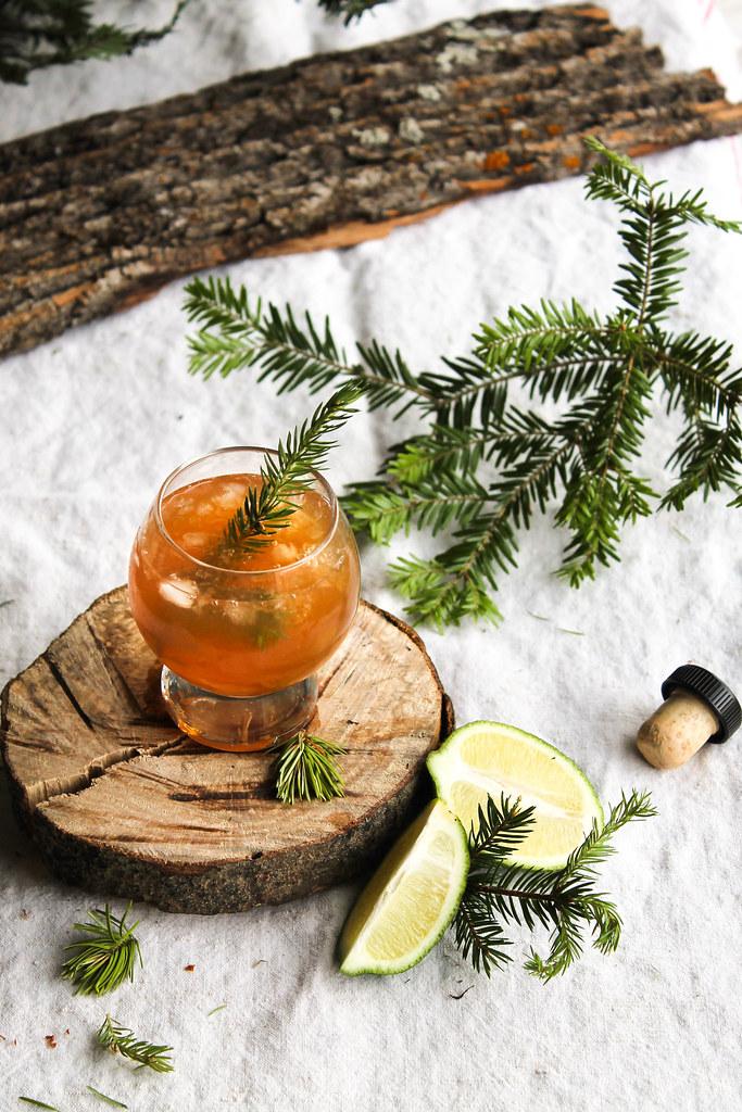 Cocktail calvados