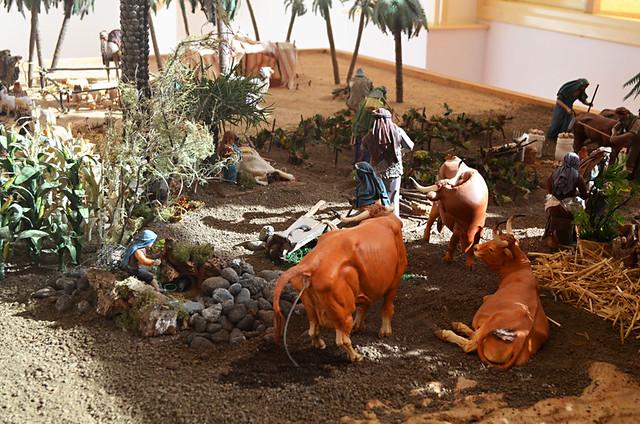 Farmimg scene, Belen, La Orotava, Tenerife