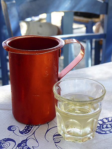 vin blanc de Naxos