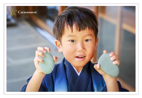 兄弟で七五三まいり 挙母神社と豊田市美術館茶室(愛知県豊田市) 祈祷 同行・出張撮影 データ渡し 着物 和装 ちとせ飴