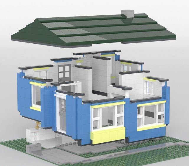 [MOC] Lustron House