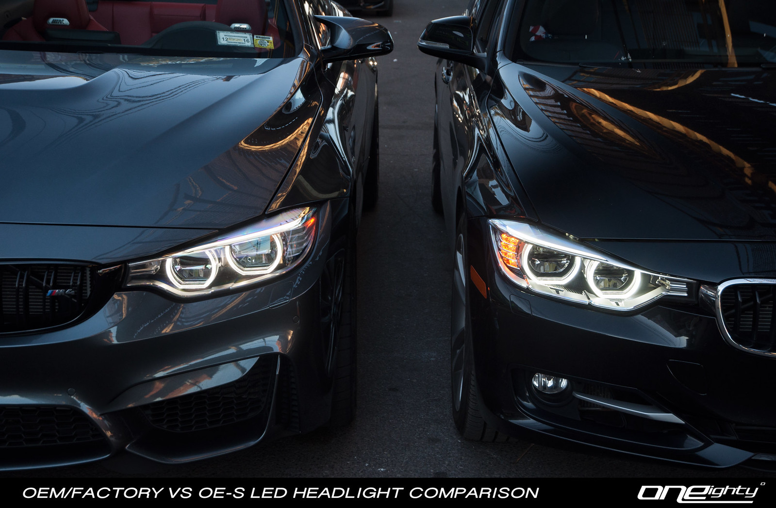320I Vs 328I >> ONEighty | OE-S F30 LED Headlight Upgrade for Halogen & Xenon (UPDATED 11/6)