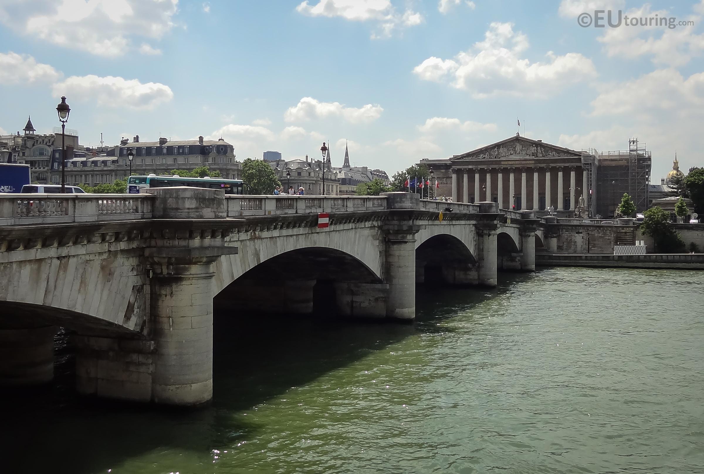 View of the Pont de la Concorde