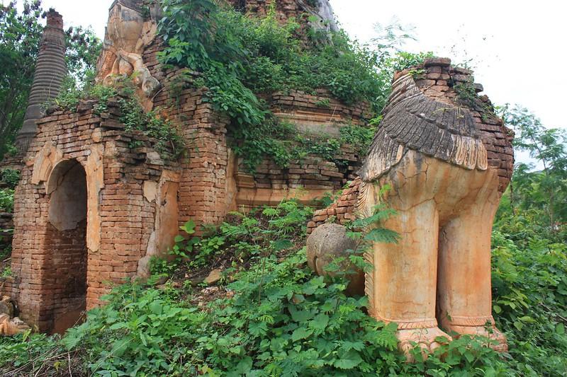 Пагоды Индейна, Мьянма