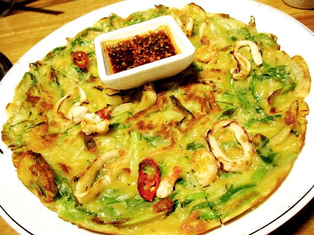 Seafood pancake 1