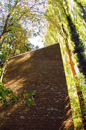 Museum Insel Hombroich - Architektur, Natur - und ein Selfie ... Kunstmuseum - Park- und Auenlandschaft am Ufer der Erft - Fotos: Brigitte Stolle 2016