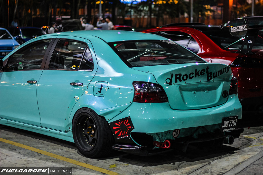 Rocket Bunny Toyota Vios Car Lover Modified Gathering 2