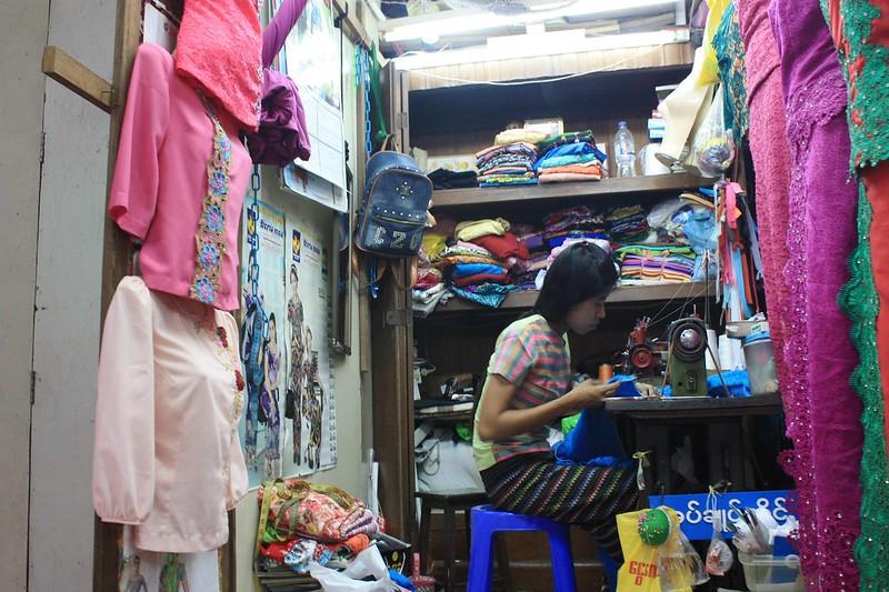 Мьянма, Янгон, Скотт-маркета