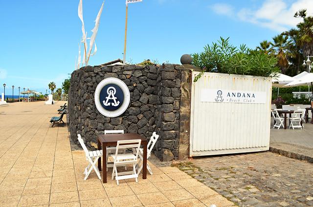 Andana Beach Club, Puerto de la Cruz, Tenerife