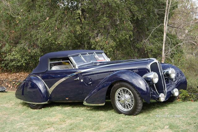 1936 Delahaye 135 Competition Figoni et Falaschi