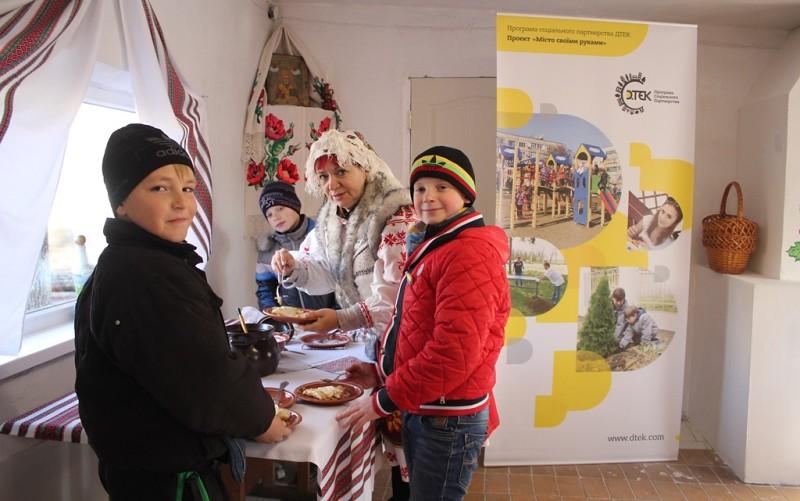 В арт-хате гостей угостили варениками