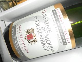Crémant d'Alsace DOMAINE DU MOULIN DE DUSENBACH - Brut tradition