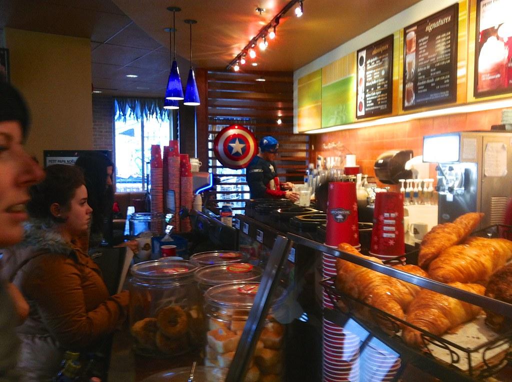 Captain café