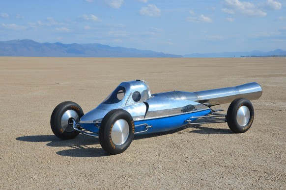 $ 30,000 in Jet-powered car, and did not think fast