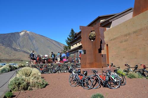Parador cafe, Teide National Park
