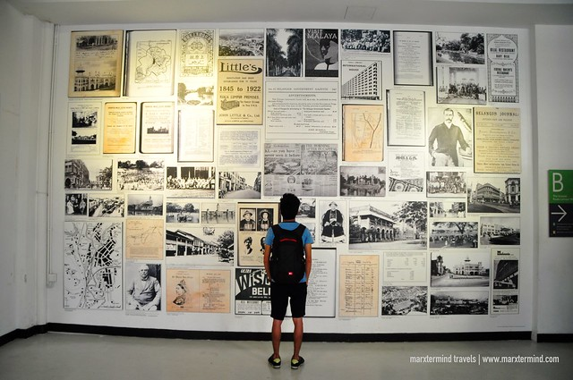 Learning the History at KL City Gallery