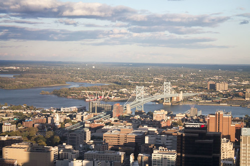 View from One Liberty Observation Deck