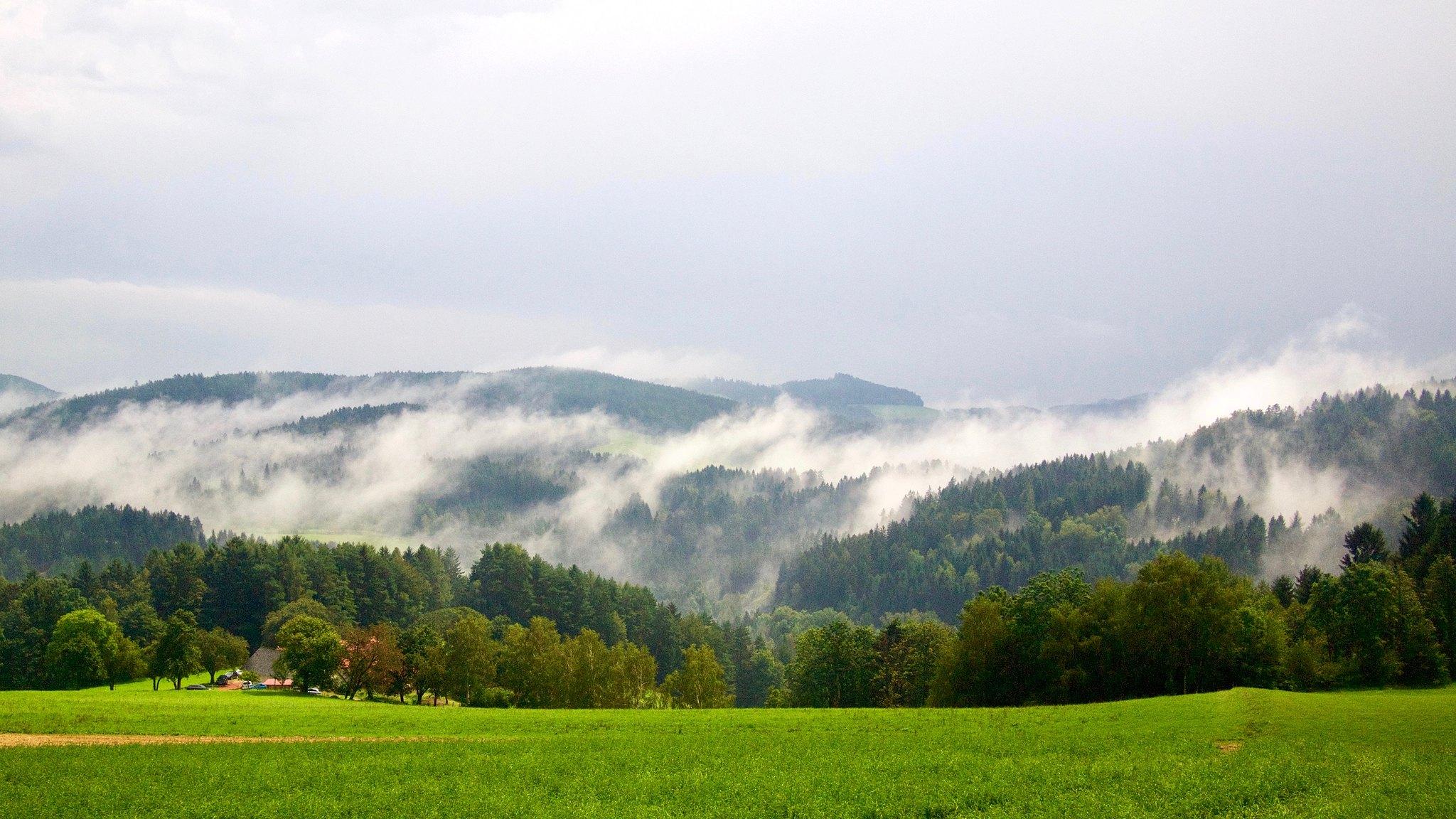 Panorama gór w Austrii