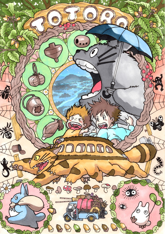 My Neighbor Totoro by Takumi