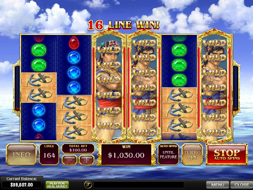 free Sinbad's Golden Voyage big win