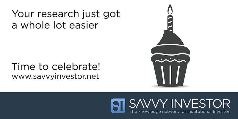 The professional network that makes your research easier - let's celebrate!