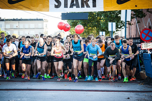 Nike Marathon Start Op 2015
