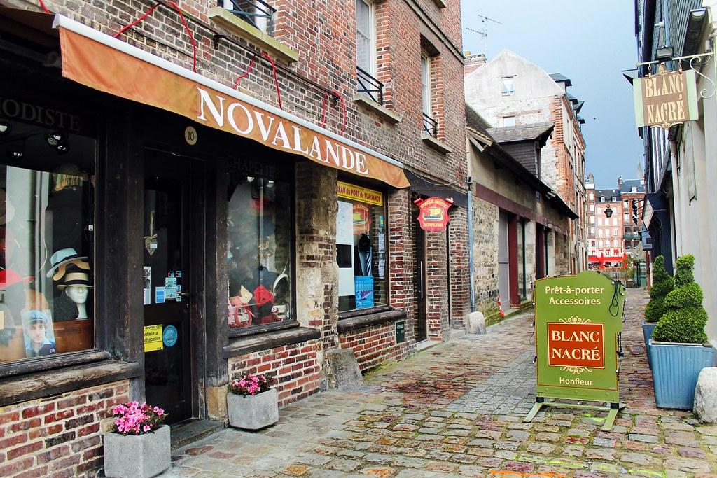Drawing Dreaming - guia de visita de Honfleur, Normandia