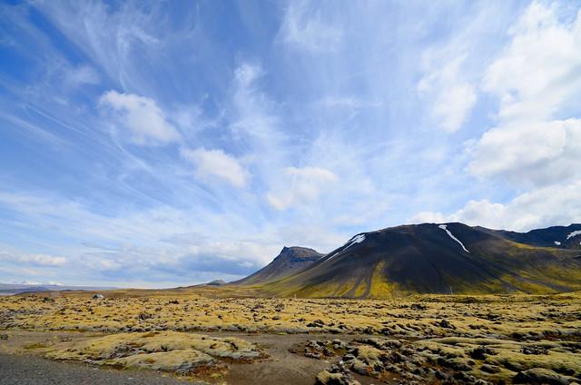 Paisajes del Blue Montains National Park en Islandia