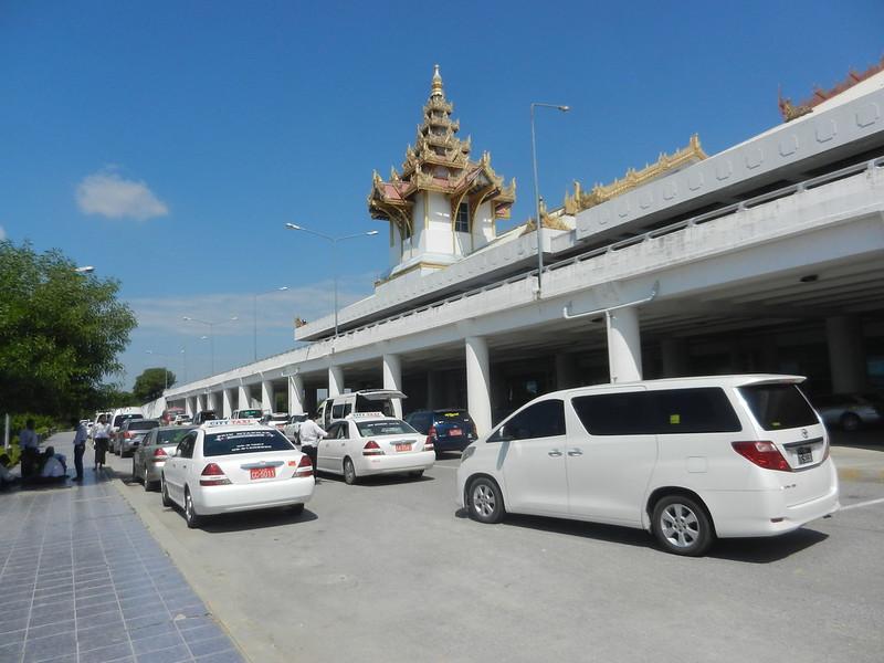 Аэропорт Мандалая, Бирма
